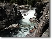 Photo of McDonald creek Falls, Glacier National  Park